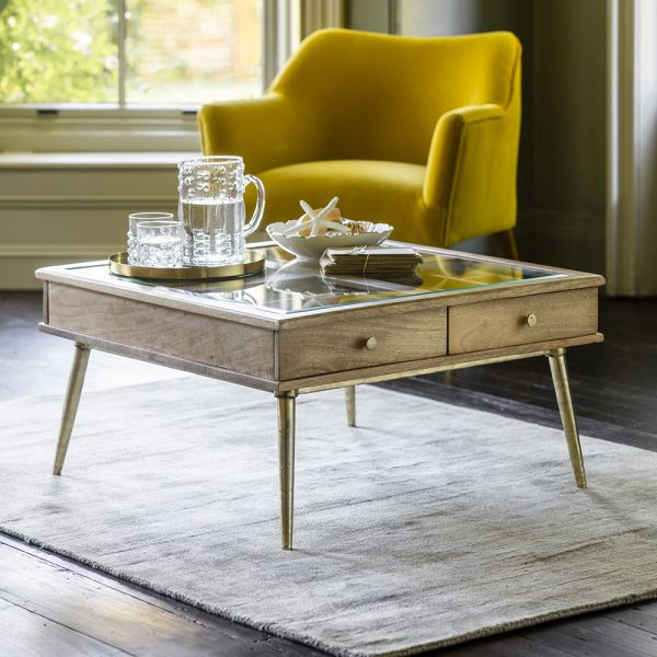 Collector's Coffee Table