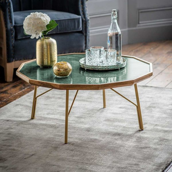 Jade Marble Coffee Table