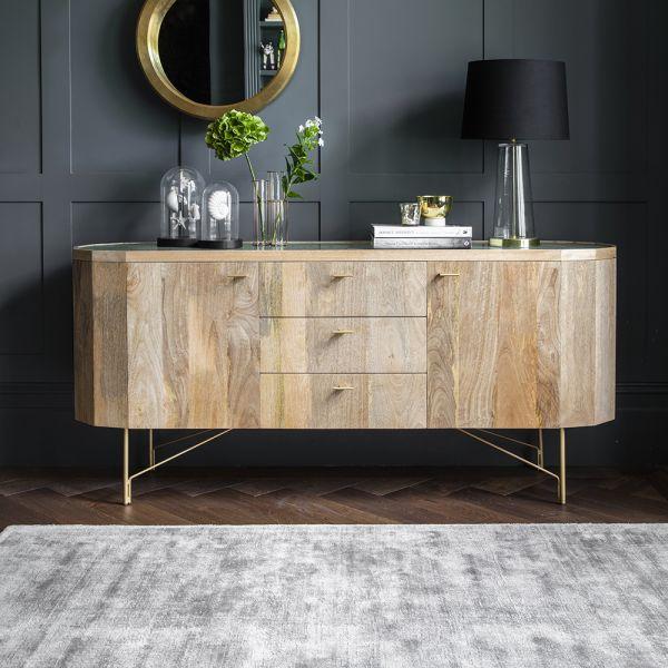 Jade Marble Sideboard