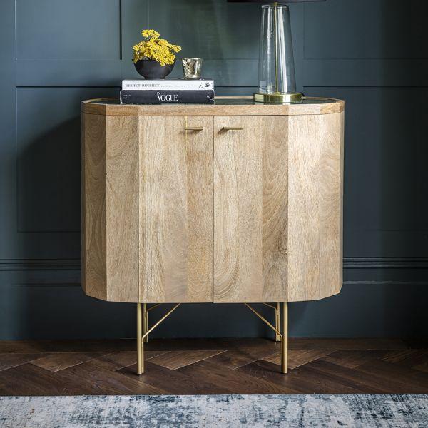 Jade Marble Drinks Cabinet