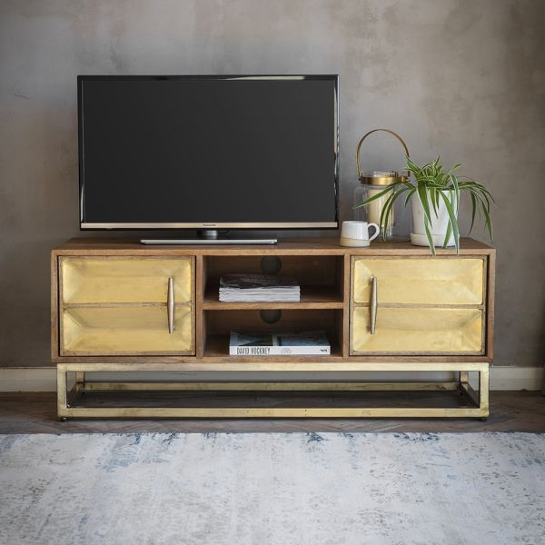 Pascali Brass Media Unit