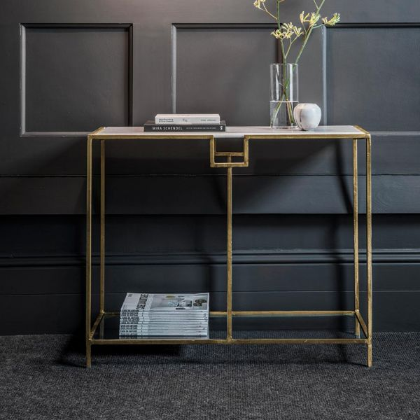 Gatsby Marble Console Table