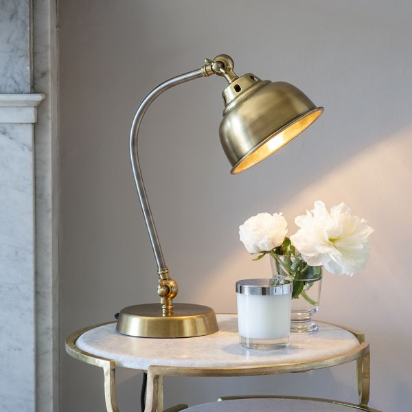 Clyde Table Light - Antique Brass