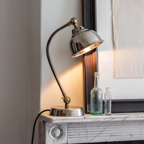 Clyde Table Light - Antique Nickel
