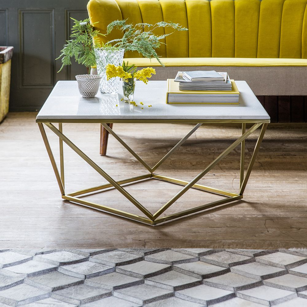 Vue Marble Coffee Table: Zodiac Marble Coffee Table