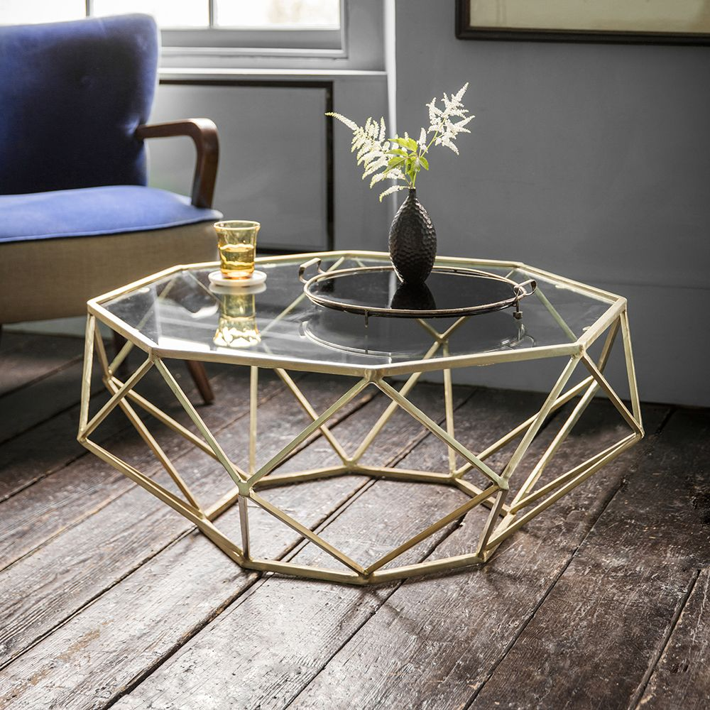Stellar White Marble Coffee Table: Solitaire Coffee Table