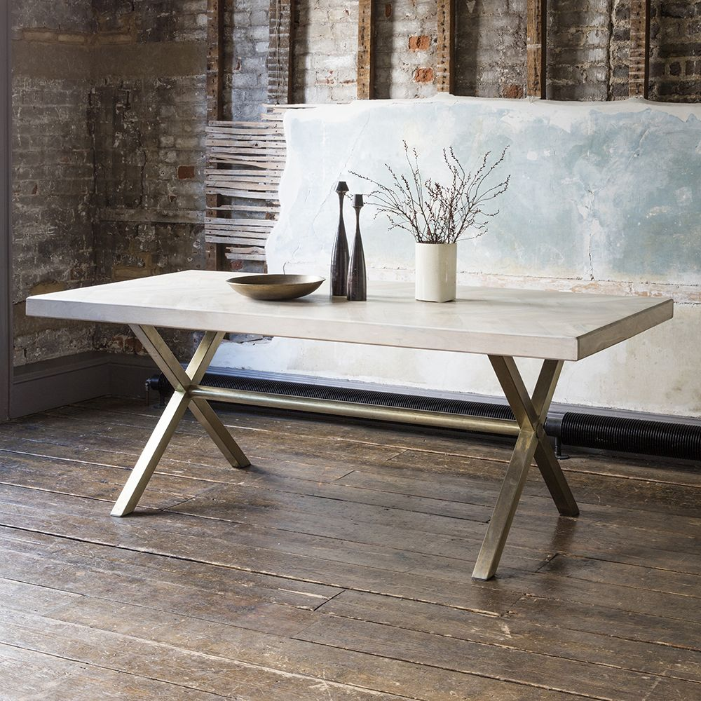 Chevron Dining Table   Large