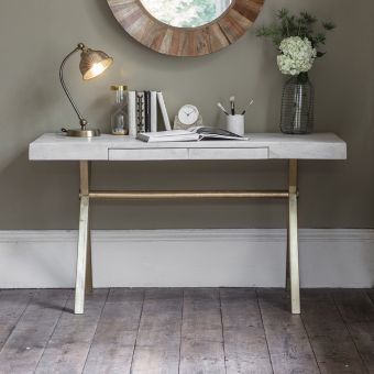 Chevron Writing Desk
