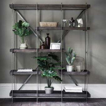 Harvey Shelving Unit - Black