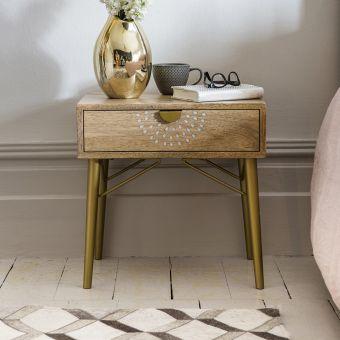 Chakra Bedside Table