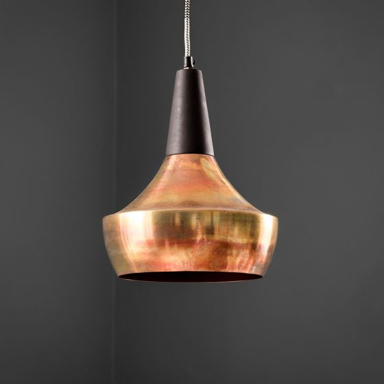 Dexter Ceiling Pendant in Burnished Copper