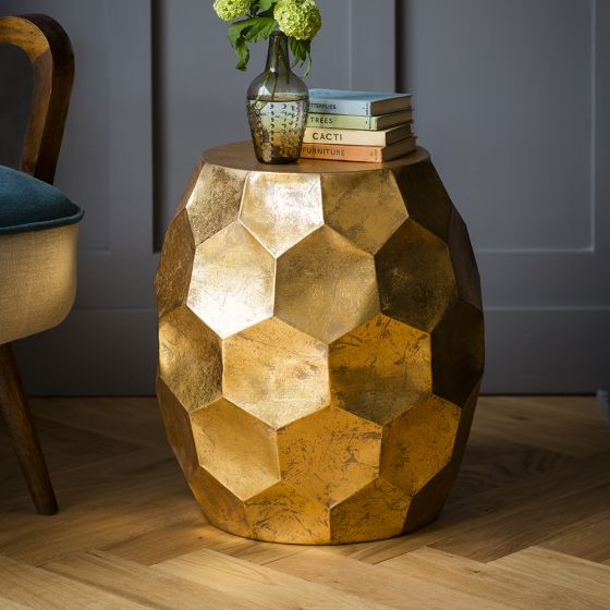 Honeycomb Side Table