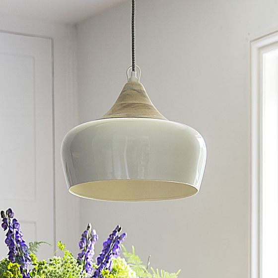 Alhambra Contemporary Ceiling Pendant in Ivory