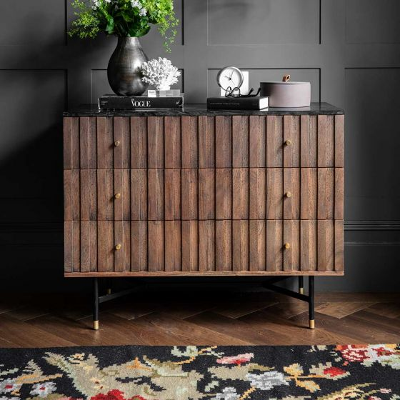 Berkeley Marble Chest of Drawers