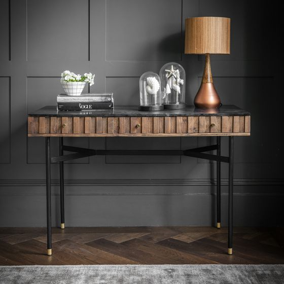 Berkeley Marble Console Desk