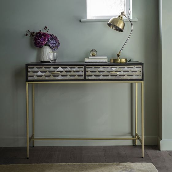 Cascade Dressing Console Table