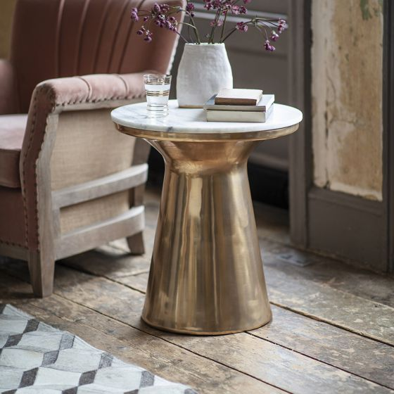 Castello Marble Side Table