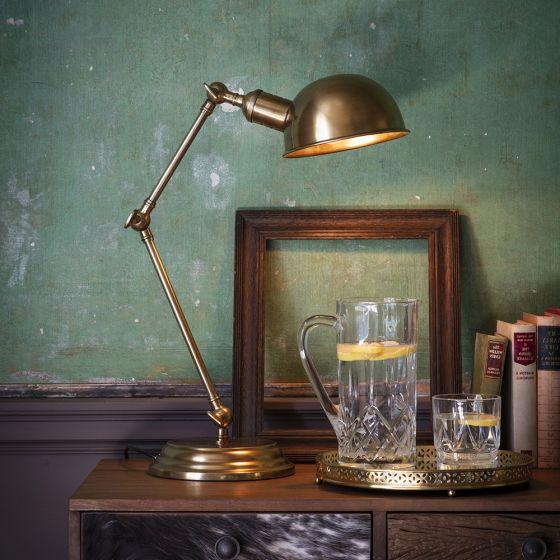 Mortimer Table Light - Antique Brass