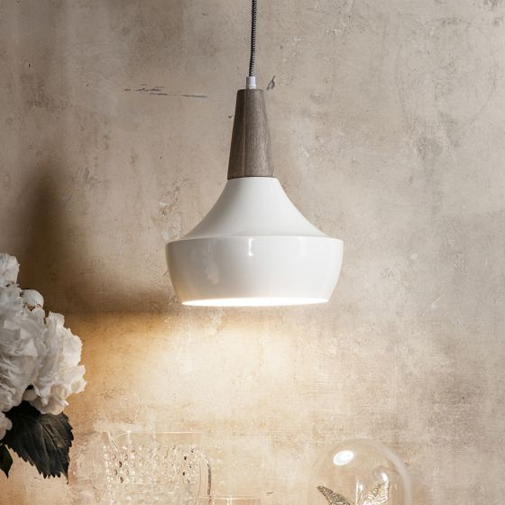 Dexter Ceiling Pendant in Ivory