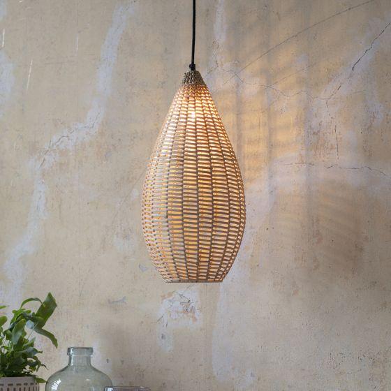 Wicker Pendant Light