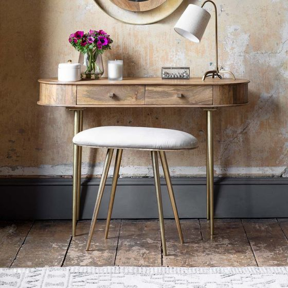 Lottie Dressing Table with Stool