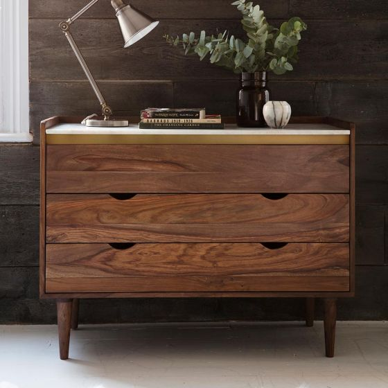 Deco Marble Chest of Drawers