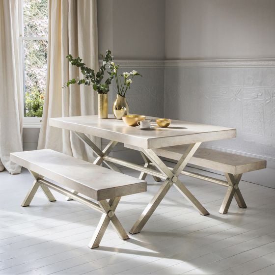 Chevron Dining Table - Medium