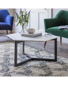 Aldwych Marble Coffee Table - Black