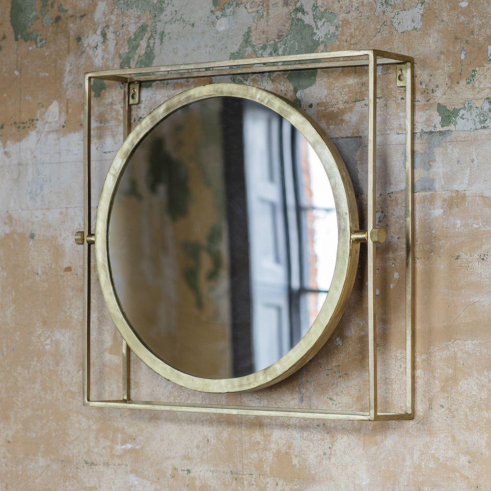 Ida Wall Mirror Small Atkin And Thyme