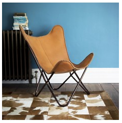 Our Papillon Leather Chair is based on the iconic 'Butterfly Chair' and its  focus on function and stylish minimalist look means it is ideal for ...